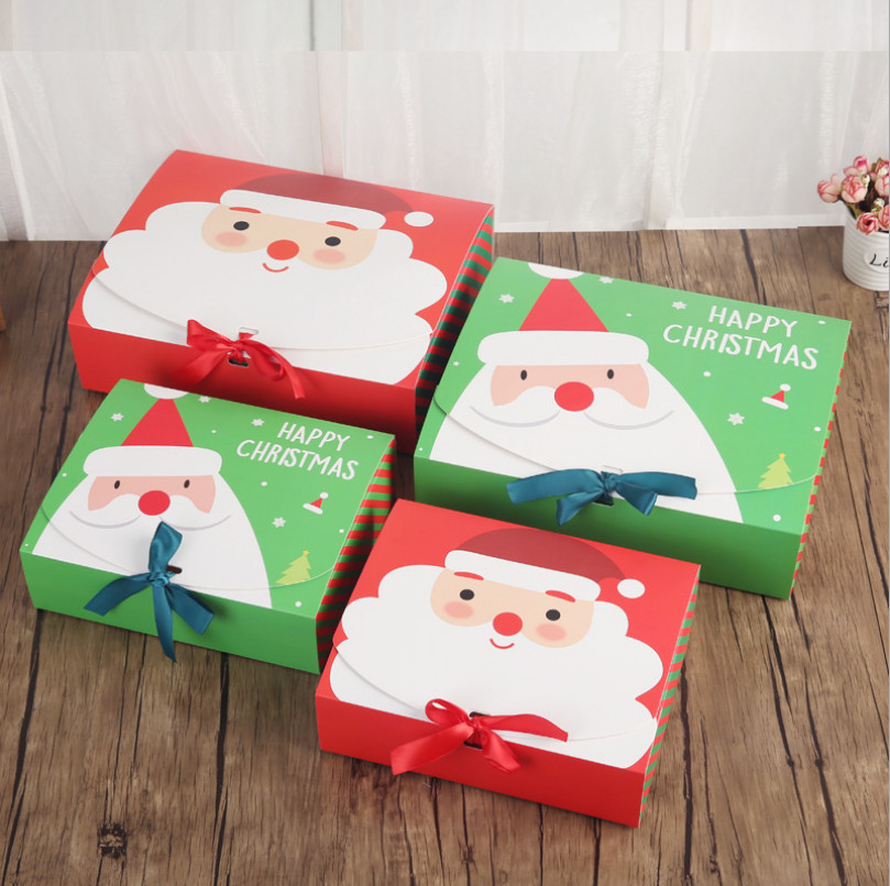 Christmas Candy Gift Boxes  High Quality Xmas Christmas Eve Gift Box Favour Present
