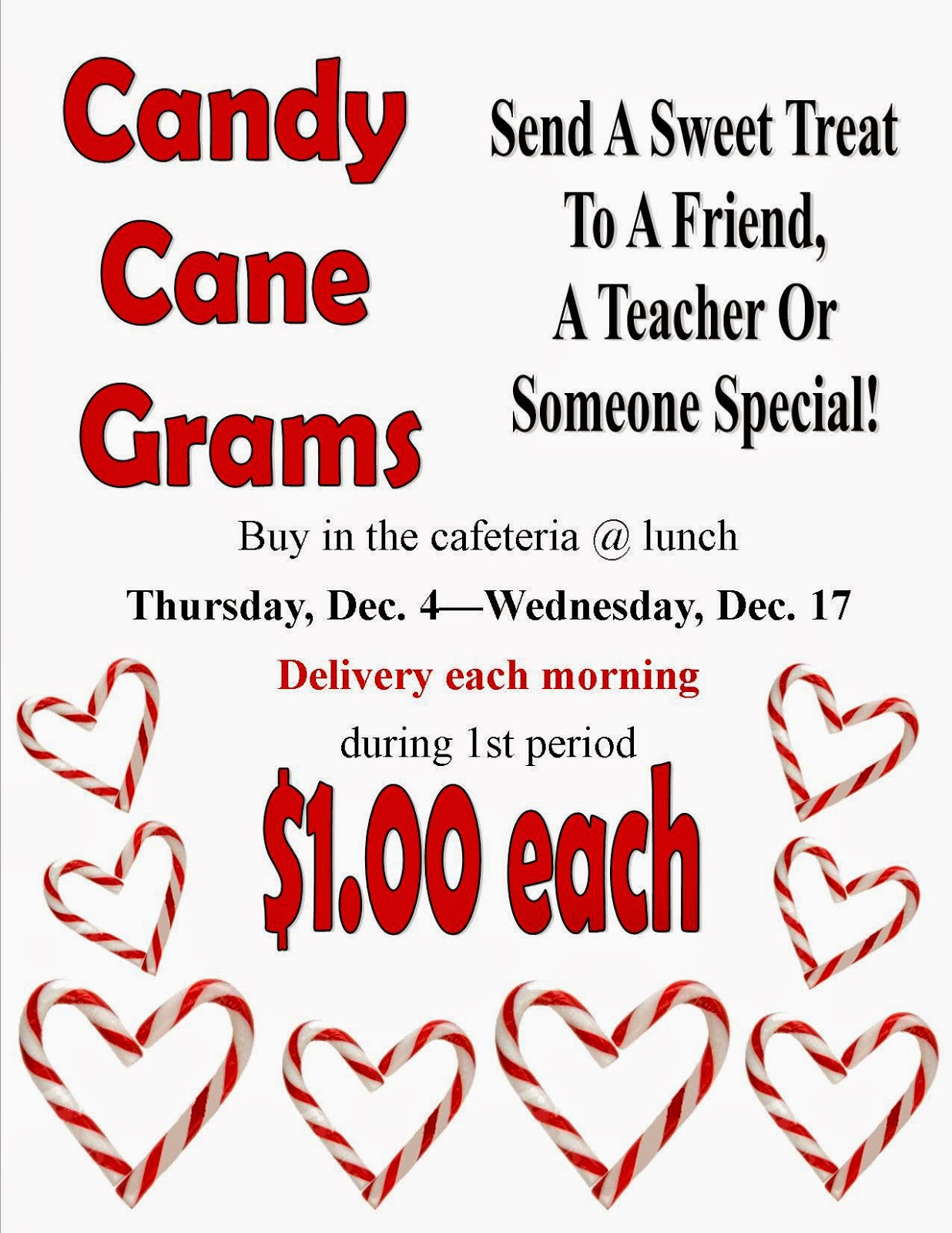 Christmas Candy Gram Template  Pony Express