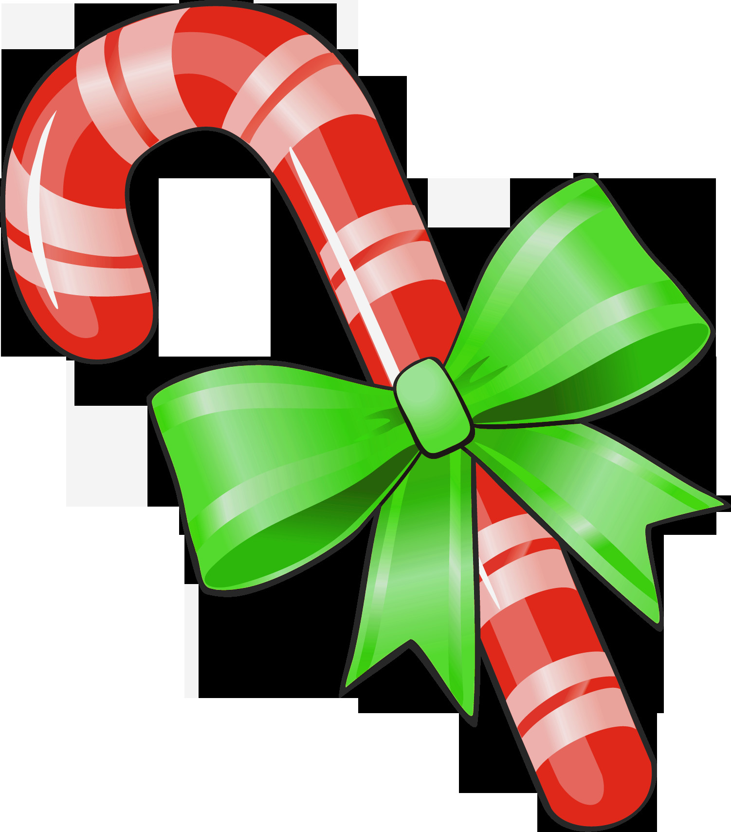 Christmas Candy Images  Free Candy Cane Clip Art Clipartix