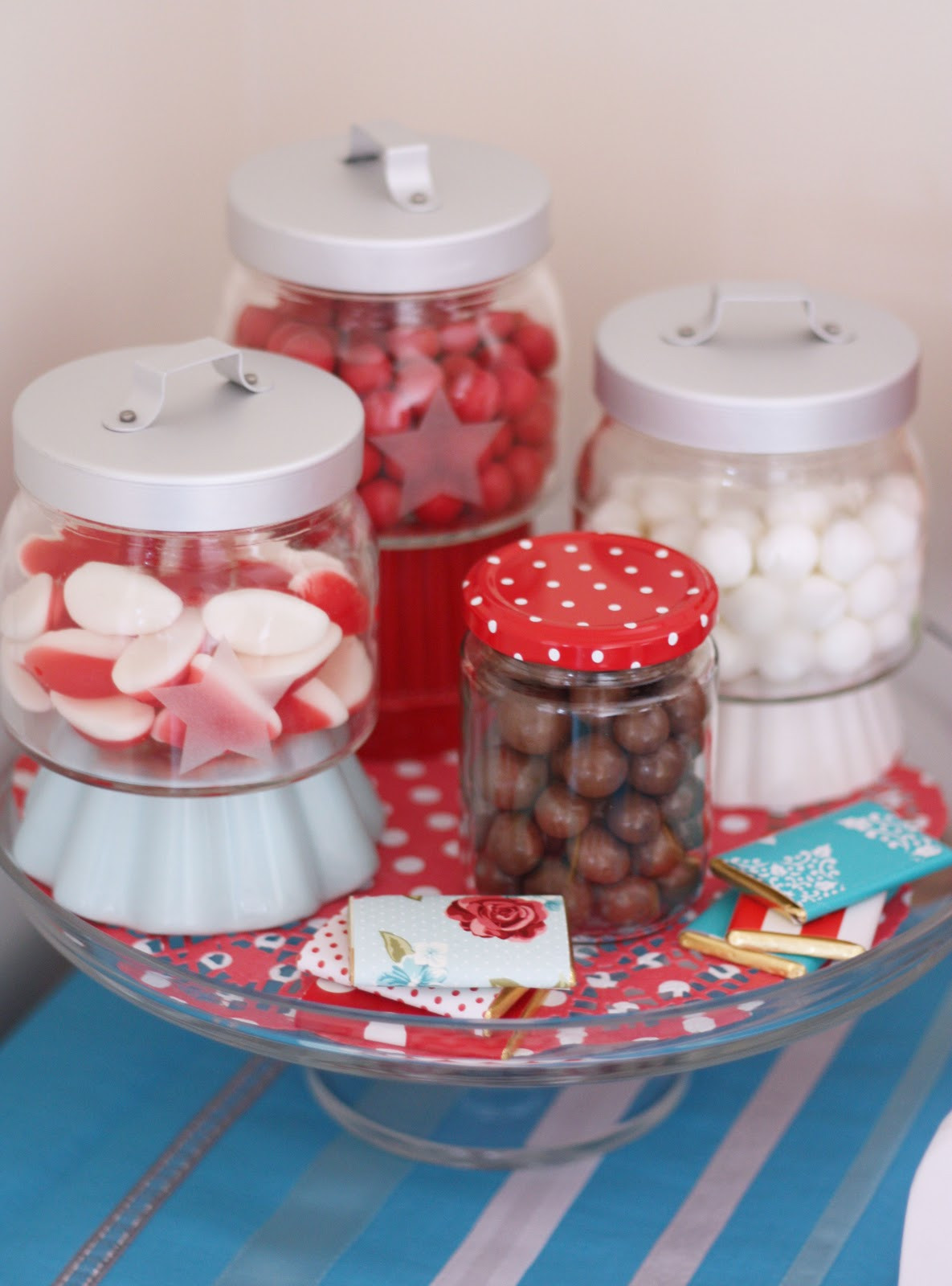 Christmas Candy Jars  Christmas Candy Buffet A Spoonful of Sugar