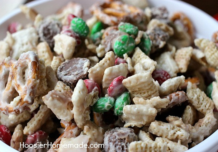Christmas Candy Mix  Christmas Candy Crunch Hoosier Homemade