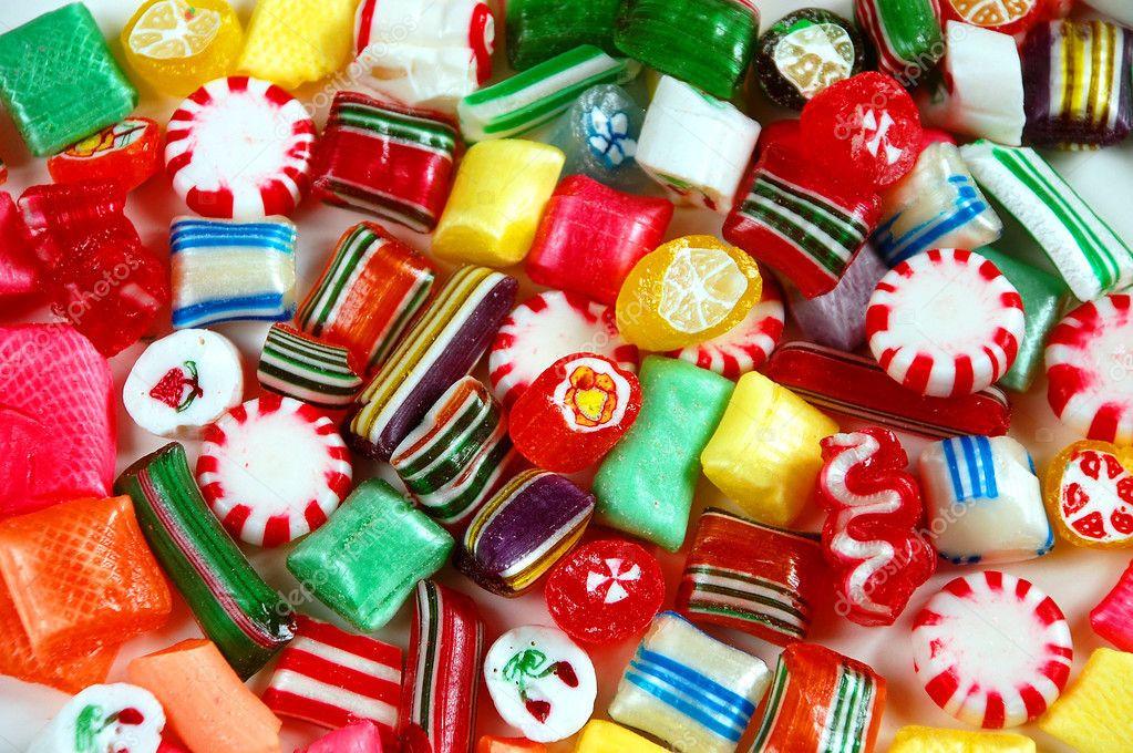 Christmas Candy Mix  Christmas candy mix — Stock © montana