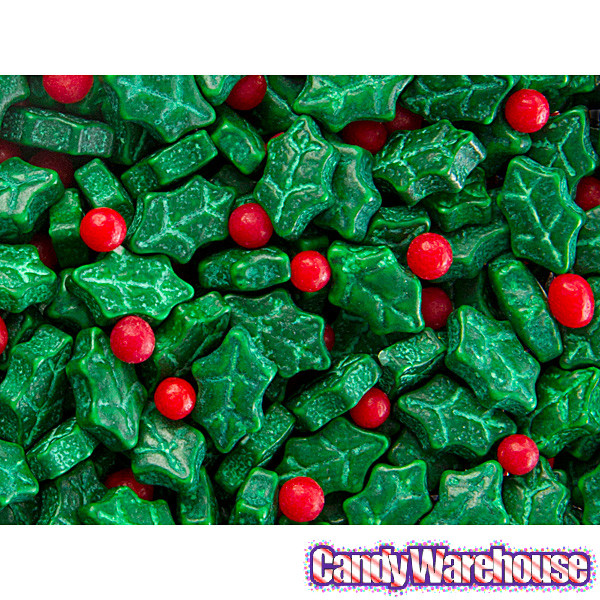 Christmas Candy Mix  Holly and Berries Holiday Mix Candy 5LB Bag