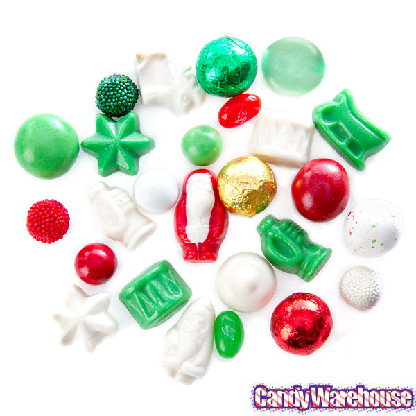 Christmas Candy Mix  Deluxe Christmas Candy Mix 10LB Case