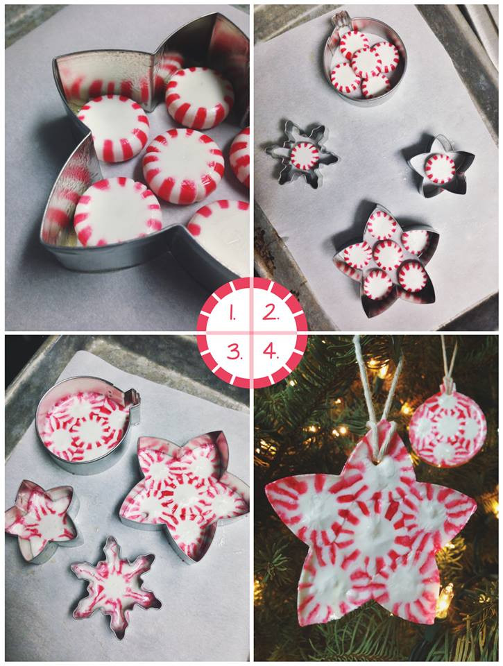 Christmas Candy Ornaments  First Pinterest Review Making Peppermint Candy Ornaments
