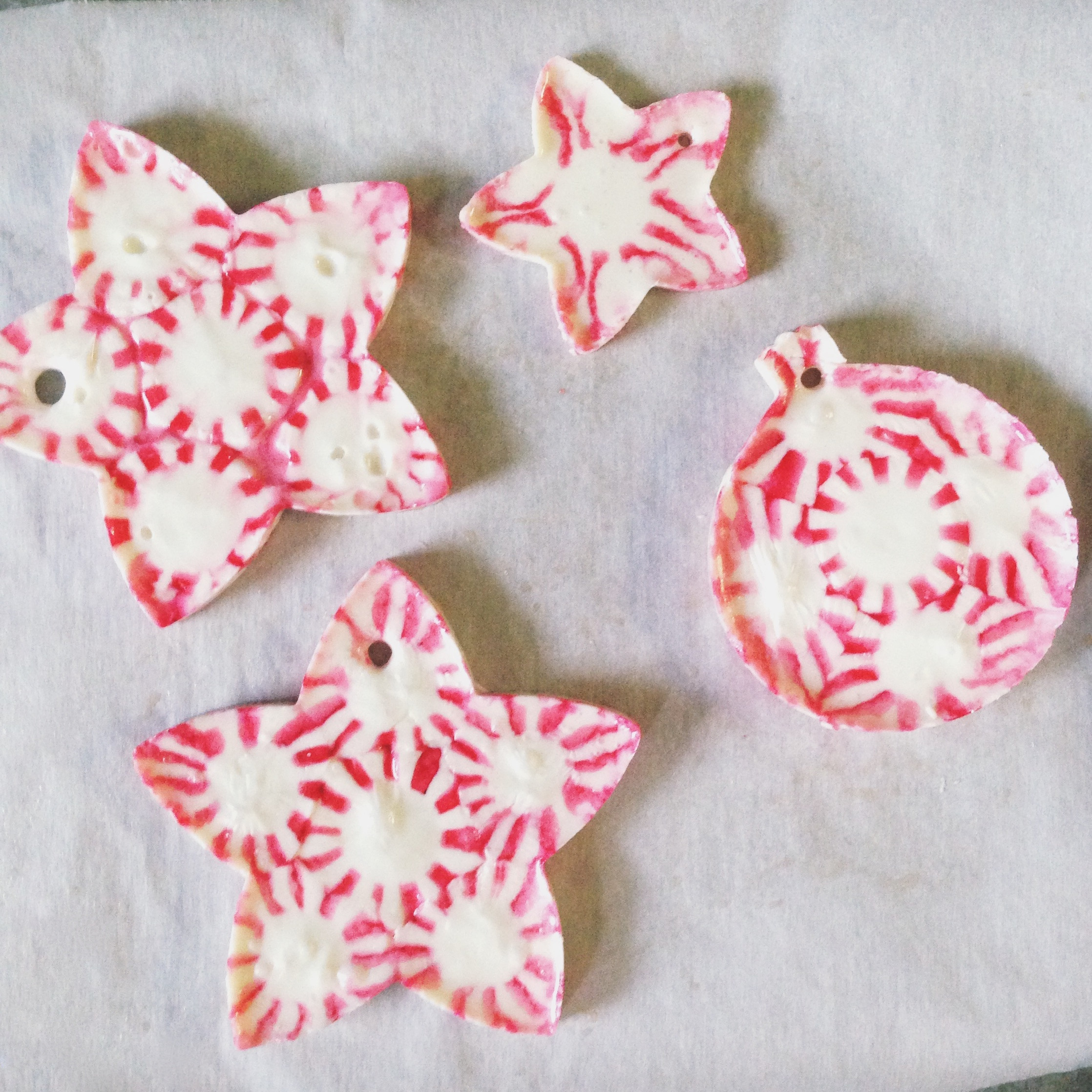 Christmas Candy Ornaments  Peppermint Candy Christmas Ornaments