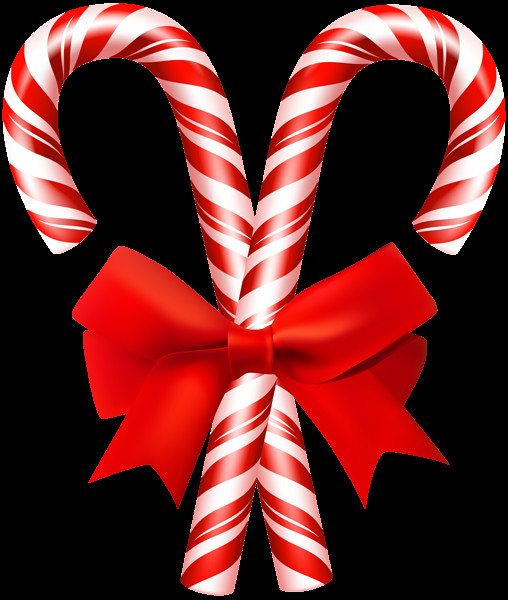 Christmas Candy Png  Christmas Candy Canes PNG Clip Art Image