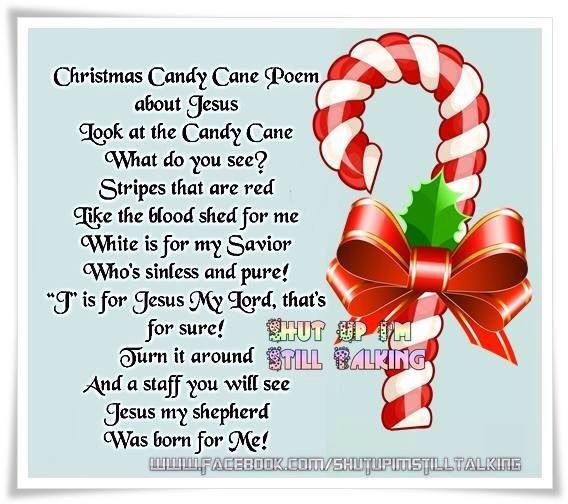 Christmas Candy Poems  Candy cane Christmas Pinterest