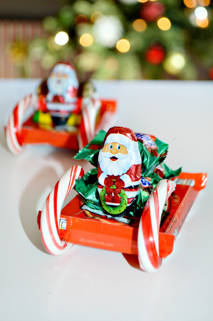 Christmas Candy Sleds  How to Make Candy Sleighs and Enjoying Holiday Candy in