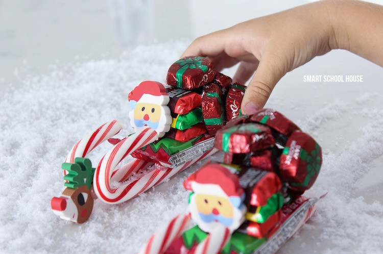 Christmas Candy Sleds  How to Make a Candy Sleigh Page 2 of 2 Smart School House