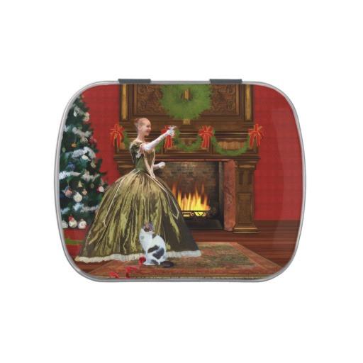 Christmas Candy Tins  Christmas Vintage Home Holiday Toast Candy Tins