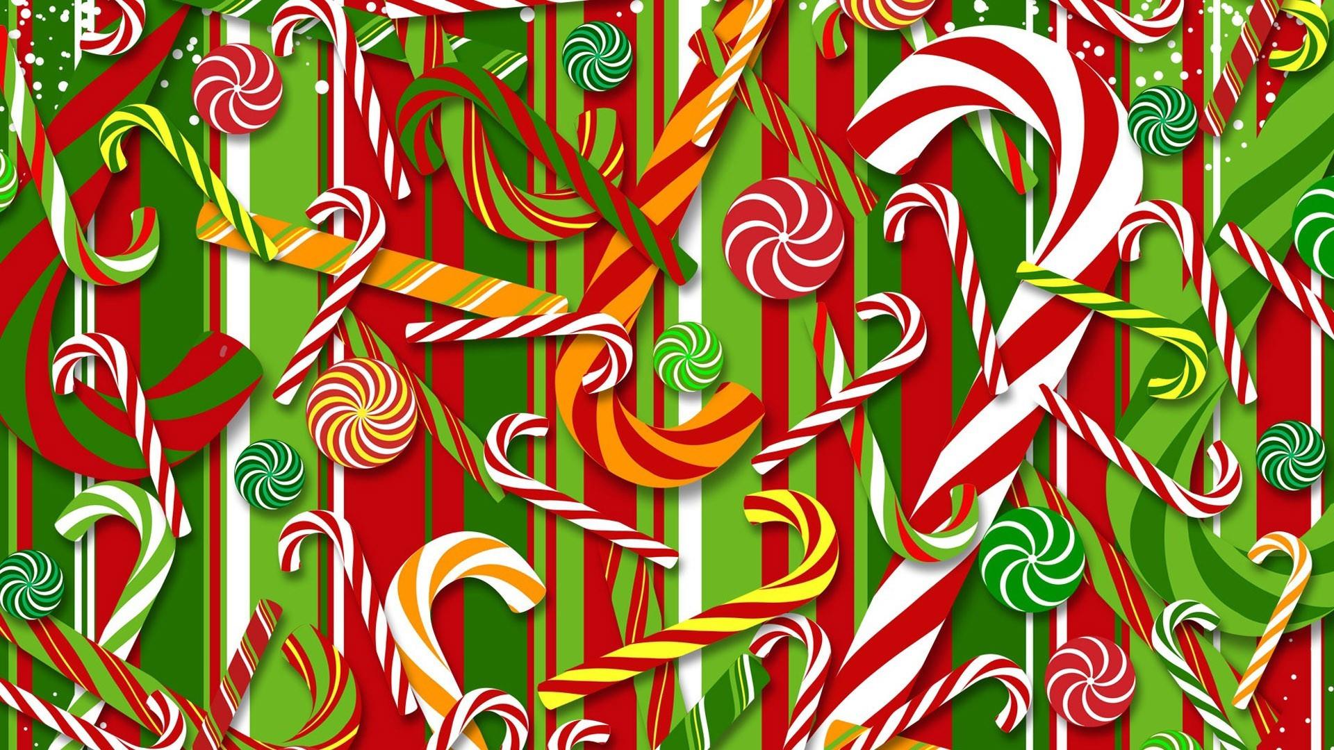 Christmas Candy Wallpaper  Christmas Candy Cane Wallpaper WallpaperSafari