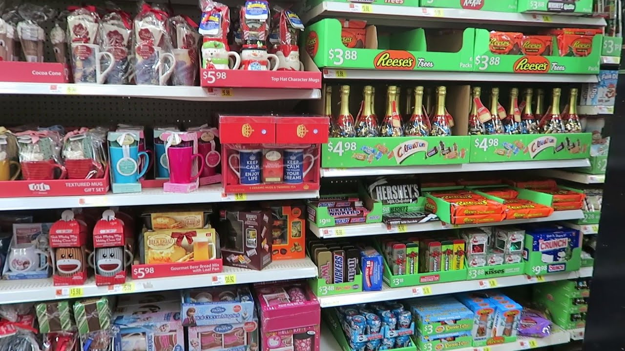 Christmas Candy Walmart  Christmas Candy Aisle at Walmart 2015