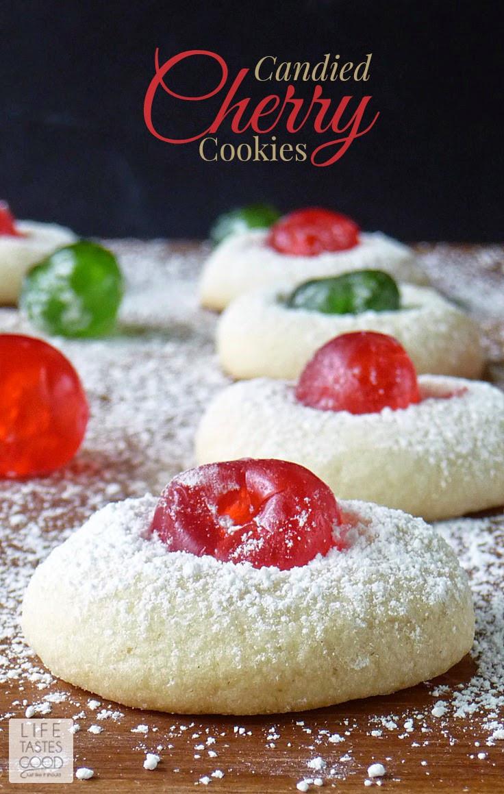 Christmas Cherries Cookies  Can d Cherry Cookies