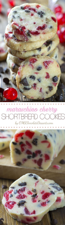 Christmas Cherries Cookies  Christmas Maraschino Cherry Shortbread Cookies