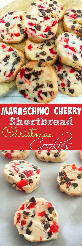 Christmas Cherries Cookies  Maraschino Cherry Shortbread Christmas Cookies