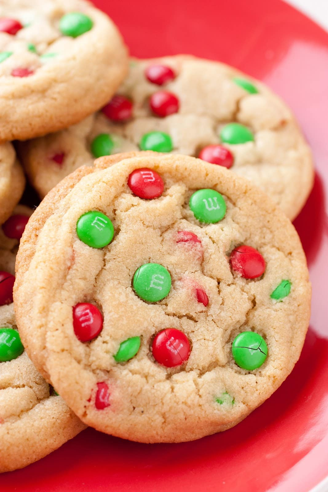 Christmas Choc Chip Cookies  M&M Cookies Christmas Style Cooking Classy