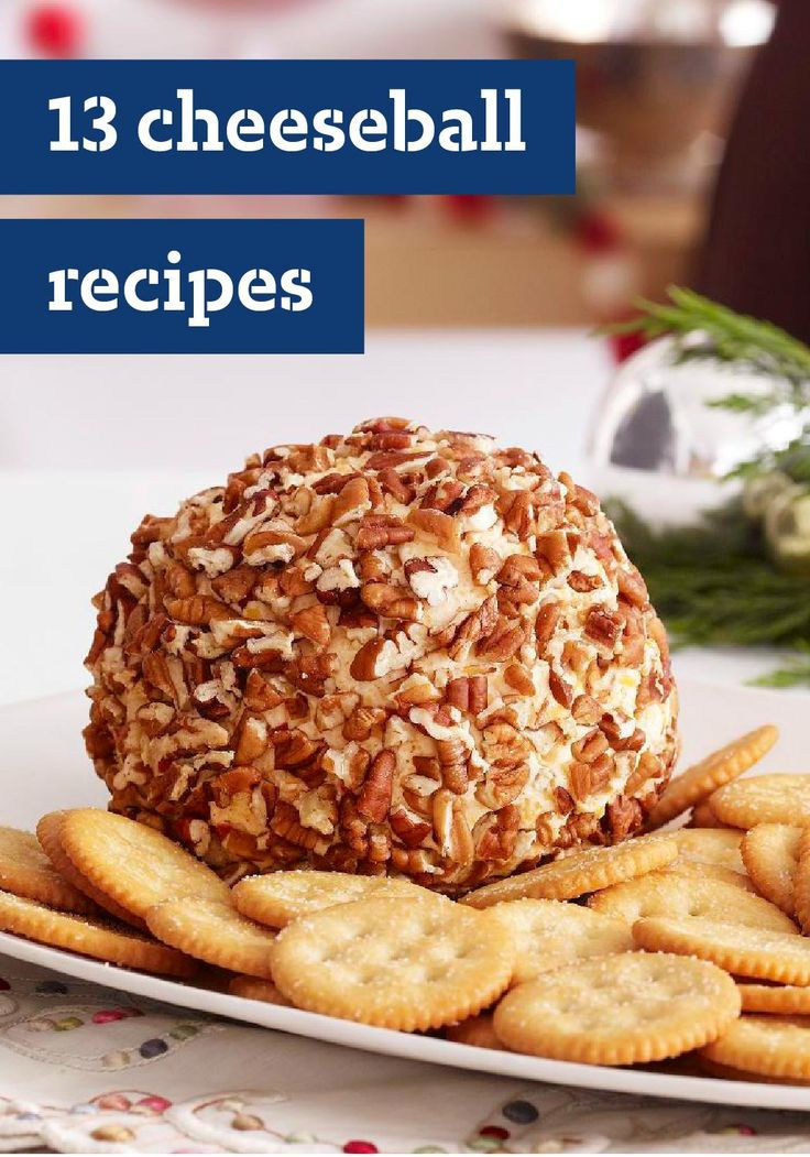 Christmas Cold Appetizers  13 Cheeseball Recipes – Cheeseballs are one of the easiest