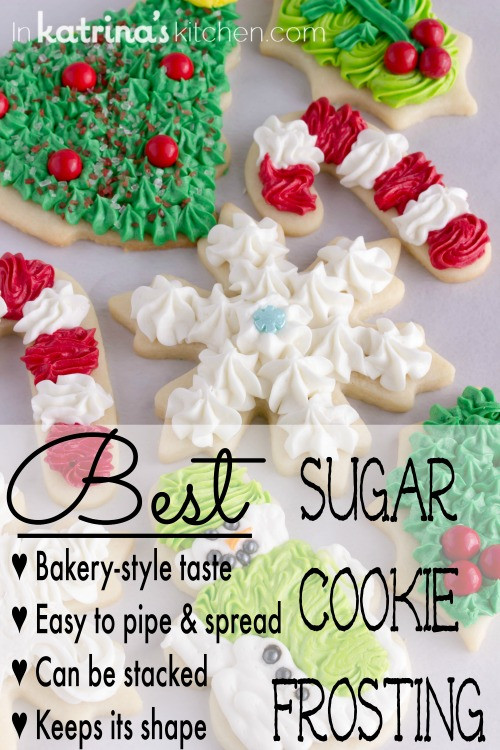 Christmas Cookie Icing Recipe  Christmas Cookie Frosting