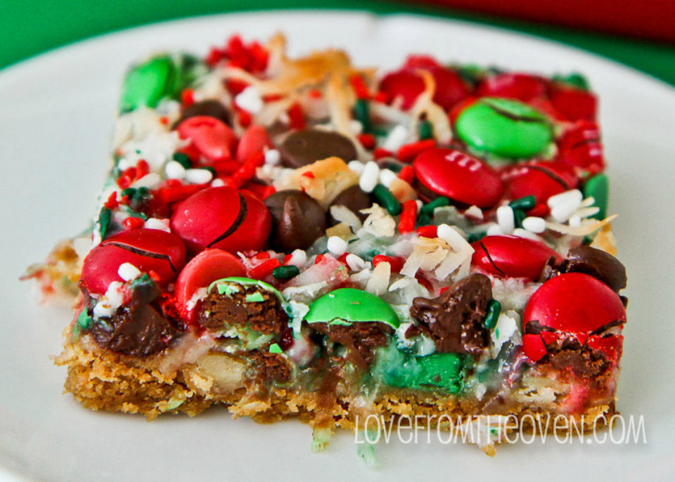 Christmas Cookies Bar  21 sweet recipes that will make you the star of your