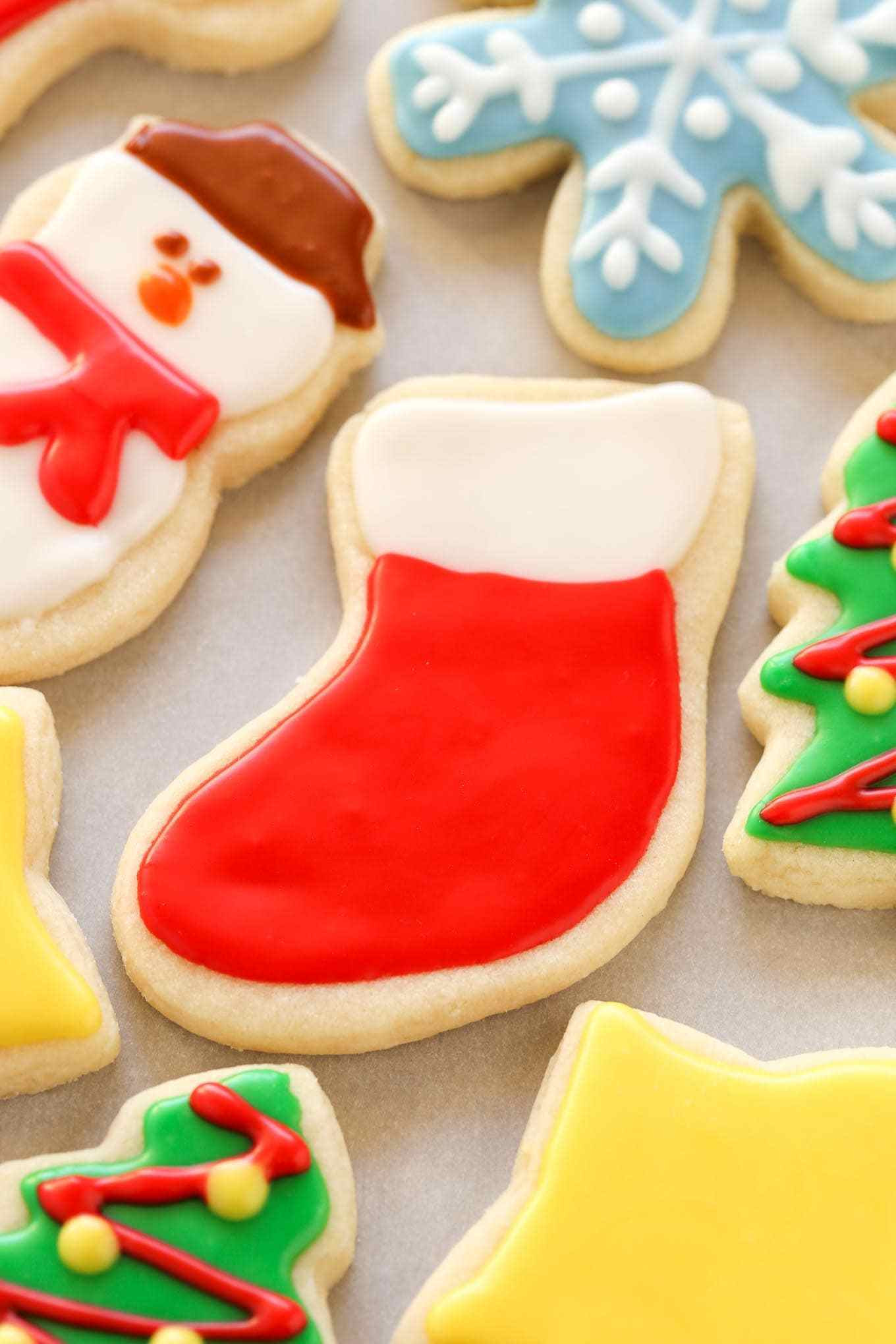 Christmas Cookies Country Song  Soft Christmas Cut Out Sugar Cookies Live Well Bake ten