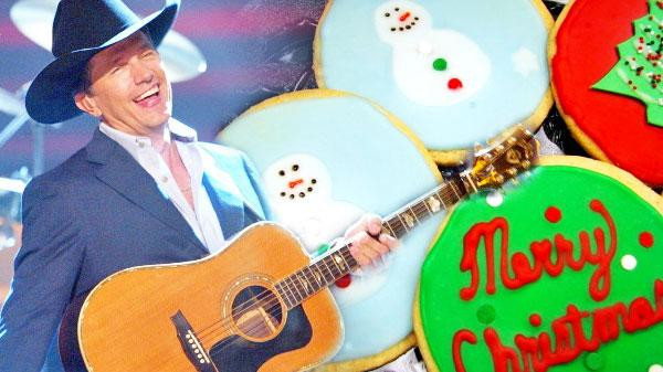 Christmas Cookies Country Song  George Strait Christmas Cookies VIDEO