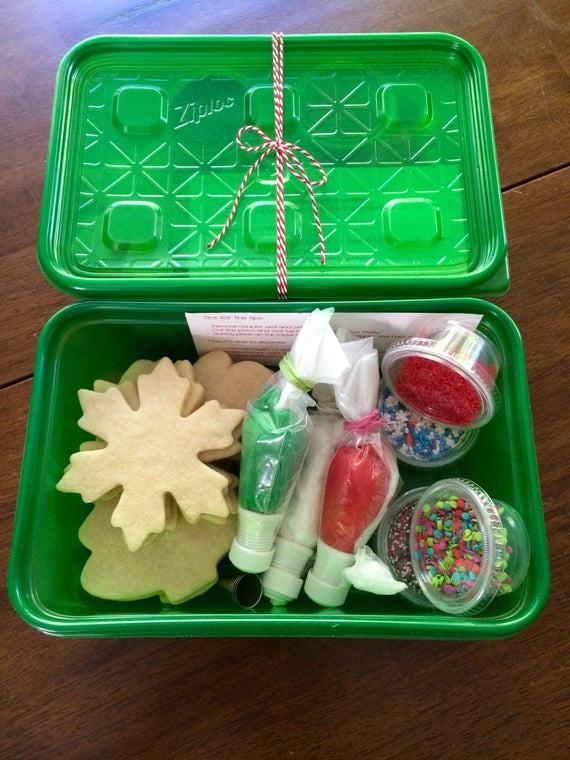 Christmas Cookies Decorating Kit  Christmas Cookie Decorating Kit perfect party cookies