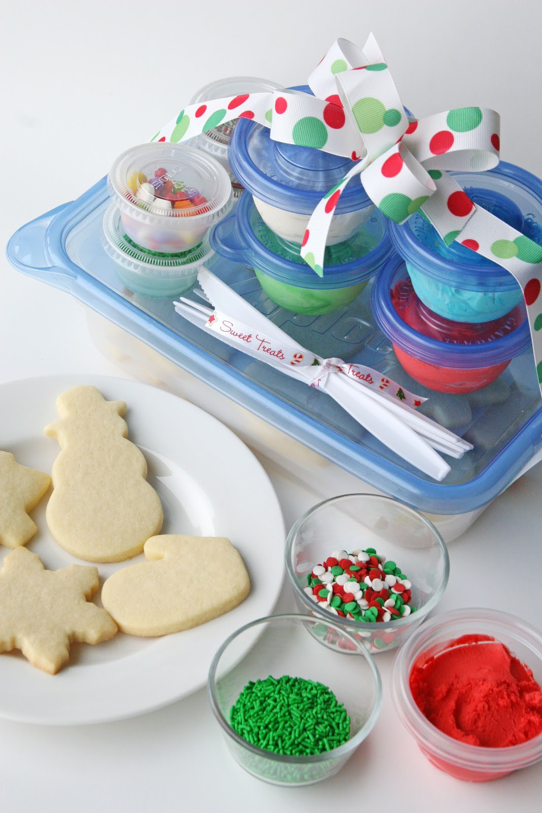 Christmas Cookies Decorating Kit  Cookie Decorating Kits for Kids and Easy Butter Frosting