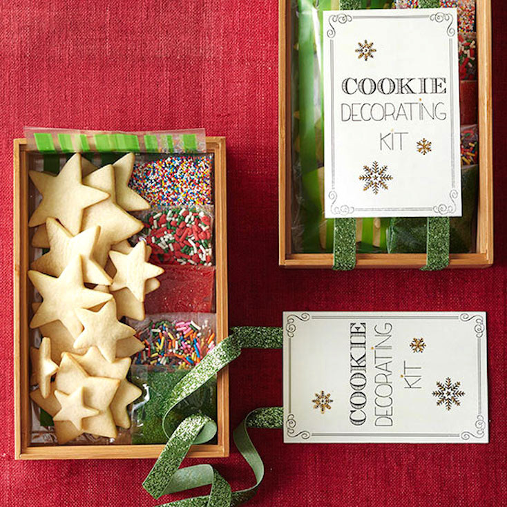 Christmas Cookies Decorating Kit  20 Christmas Cookie Recipes and Creative Ways to Give Them