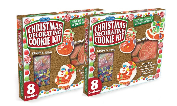Christmas Cookies Decorating Kit  Christmas Cookie Decorating Kit 2 Pack