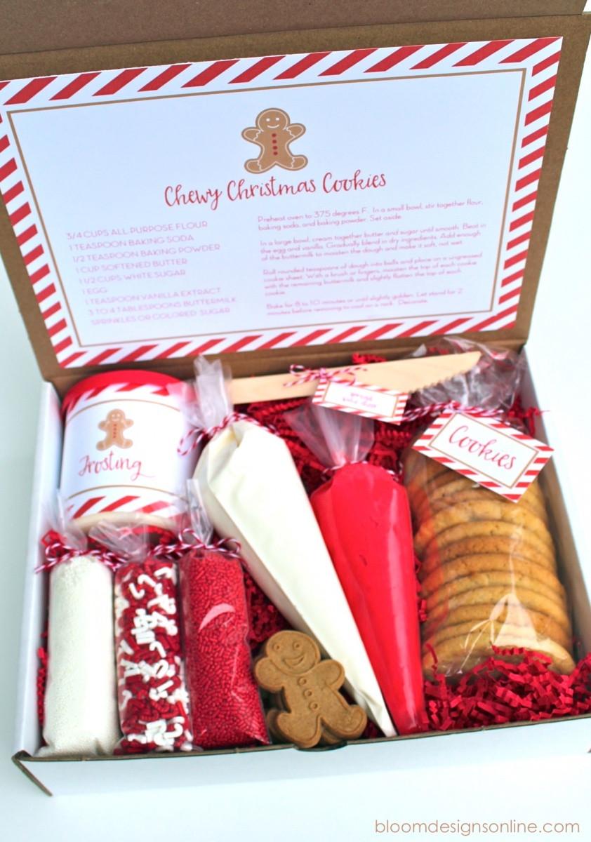 Christmas Cookies Decorating Kit  Christmas Cookie Kit Bloom Designs