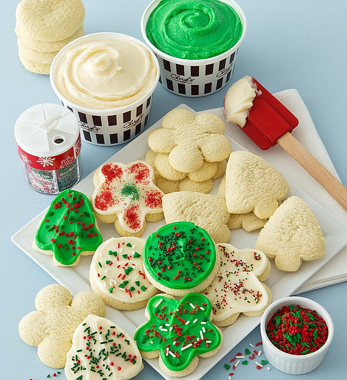Christmas Cookies Decorating Kit  Holiday Cut out Cookie Decorating Kit