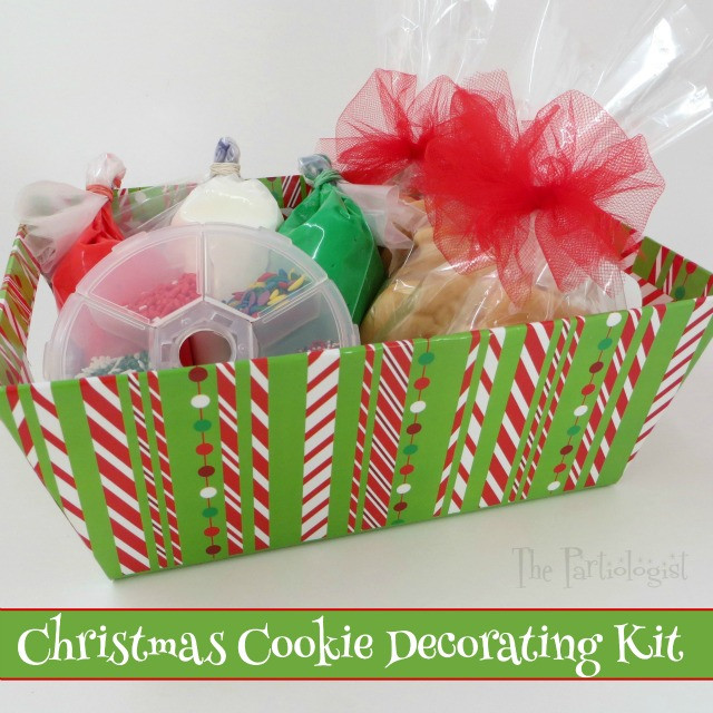 Christmas Cookies Decorating Kit  The Partiologist Christmas Cookie Decorating Kit