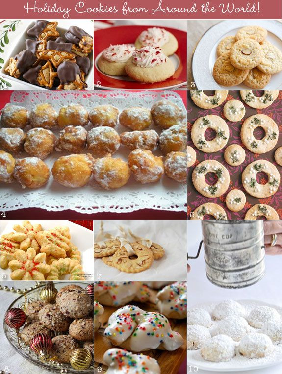 Christmas Cookies From Around The World  10 Holiday Cookies from Around the World