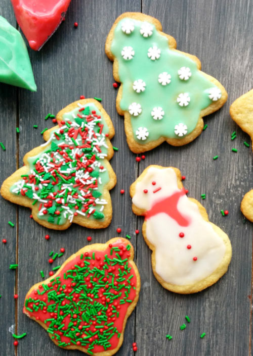 Christmas Cookies From Scratch  From Scratch Sugar Cookies With Easy Icing