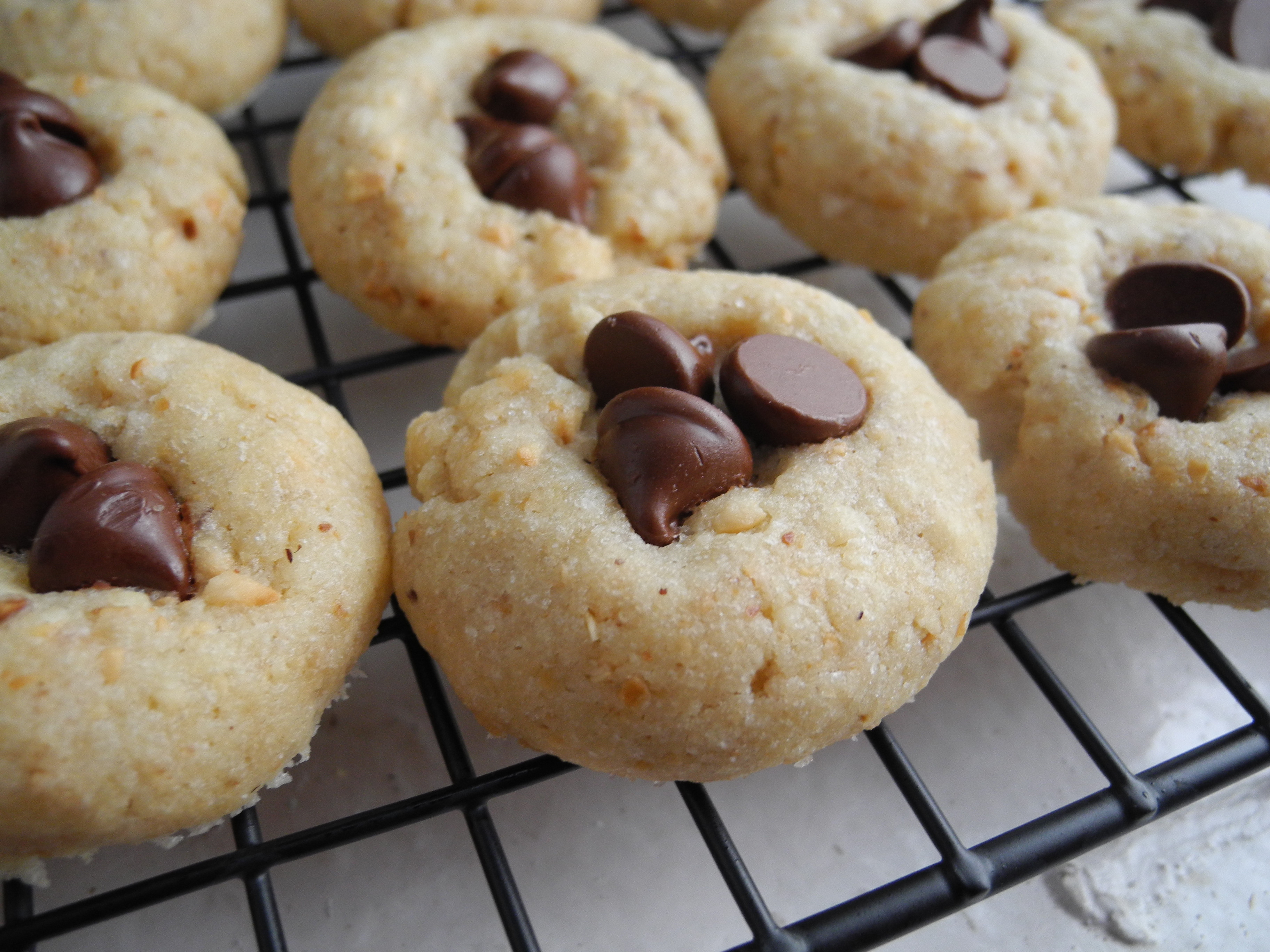 Christmas Cookies From Scratch  Holiday Cookies – Hazelnut Thumbprints