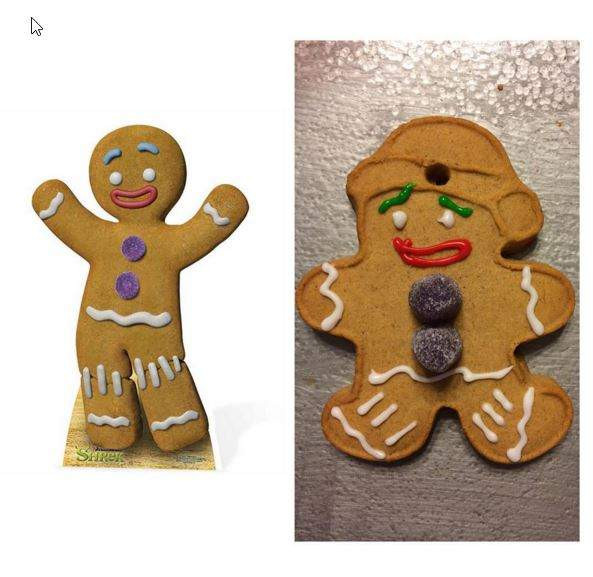 Christmas Cookies Funny  Funny Christmas Cookie s When Pinterest Recipes Fail