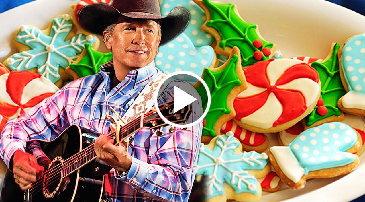 Christmas Cookies George Strait  George Strait Can t Wait For Your Christmas Cookies In