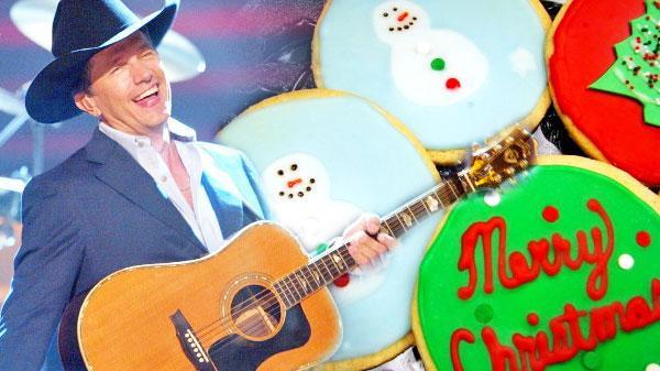 Christmas Cookies George Strait  George Strait Christmas Cookies VIDEO