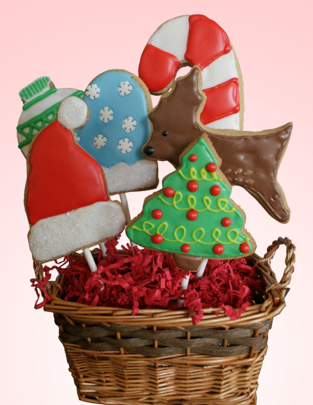 Christmas Cookies Gifts  Little Lulu s Cupcakes Christmas Cookie Baskets