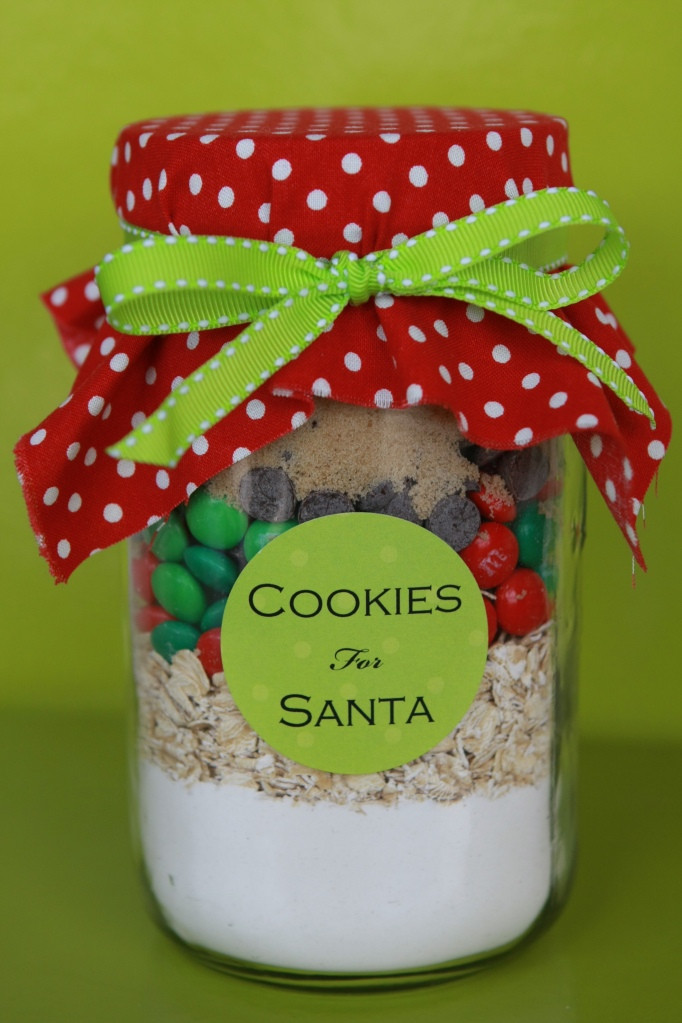 Christmas Cookies Gifts  Maddycakes Muse Christmas Gifts In A Jar