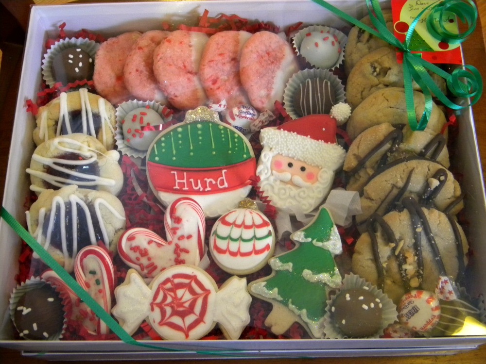 Christmas Cookies Gifts  Occasional Cookies Christmas Gift Boxes