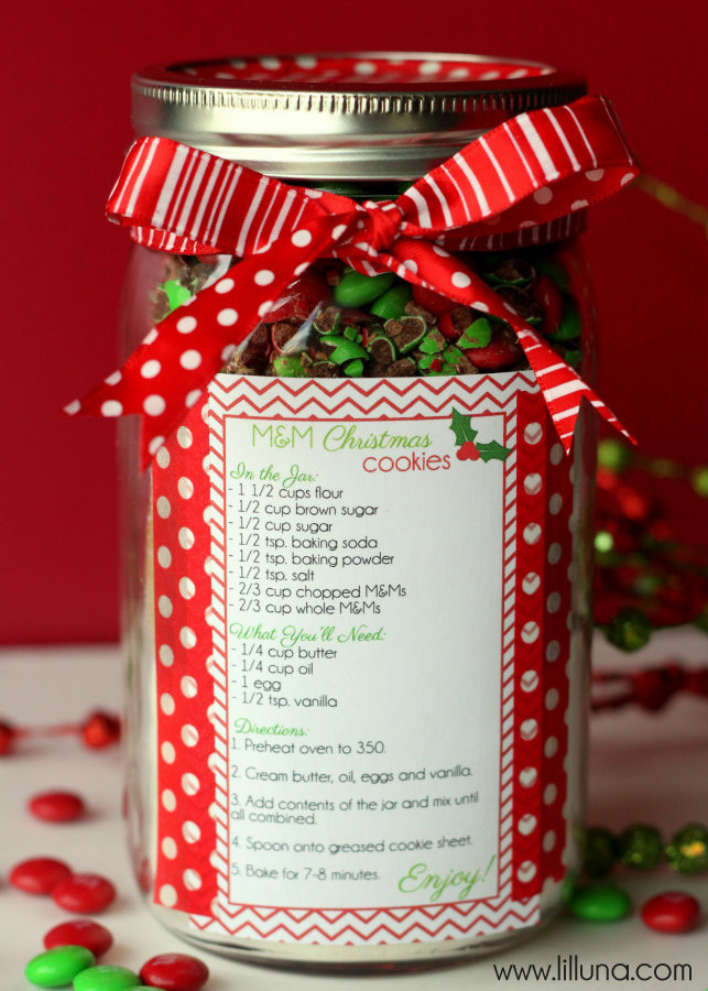 Christmas Cookies Gifts  Christmas Cookie Jar Gift Idea