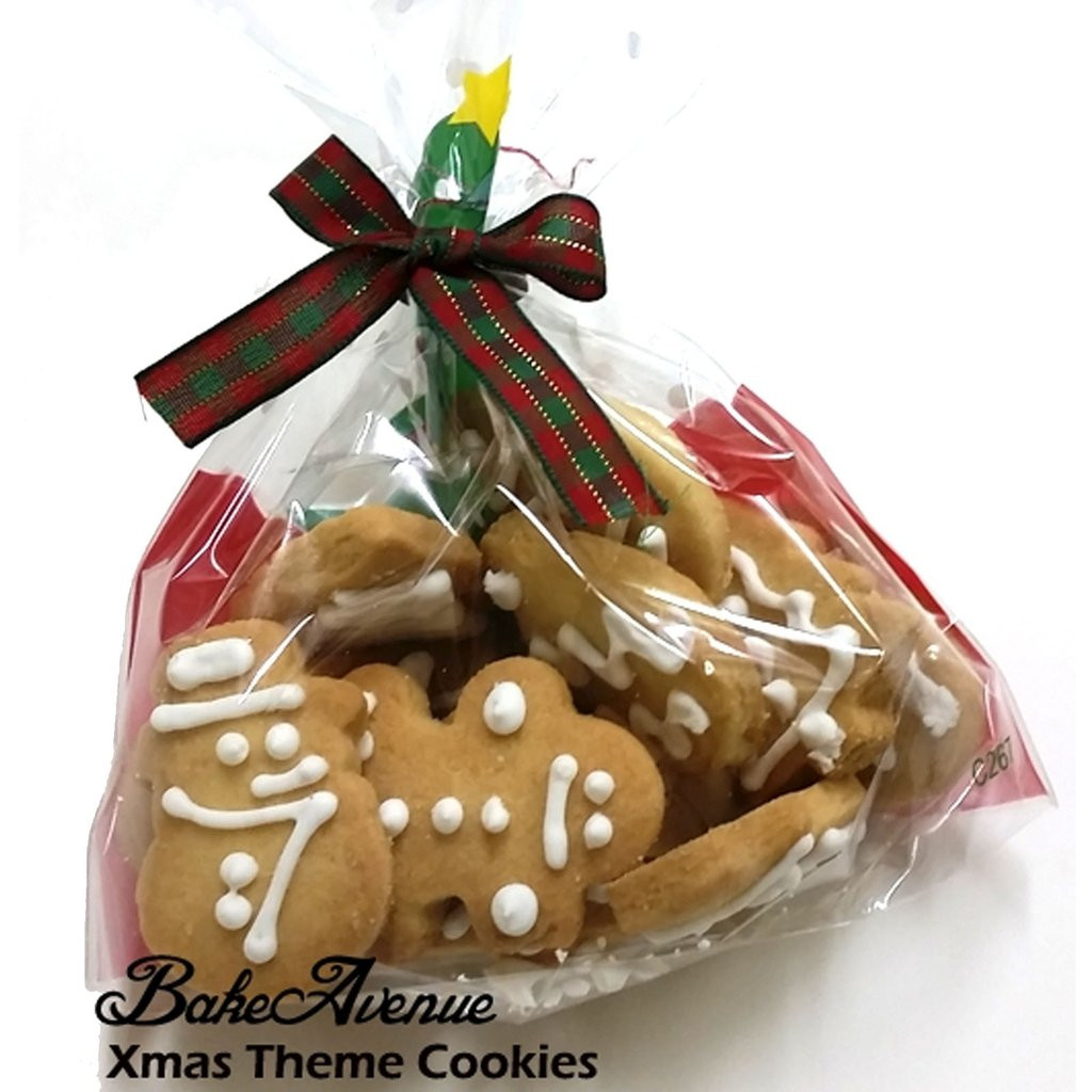 Christmas Cookies In A Bag  Christmas Theme Assorted Butter Cookies in a Box – BakeAvenue