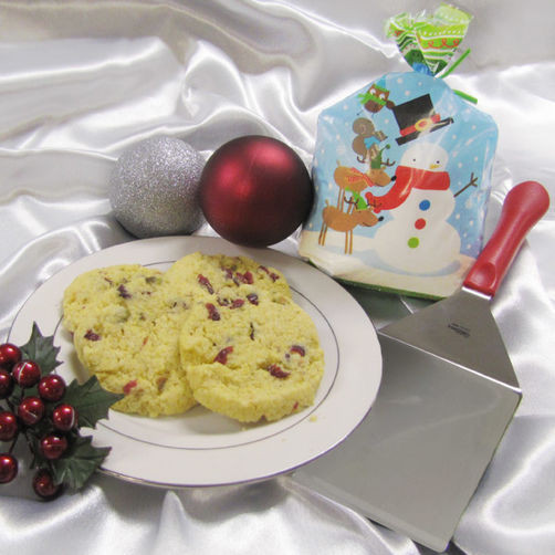 Christmas Cookies In A Bag  Cornmeal Christmas Cookies in a Treat Bag Recipe