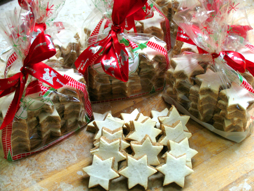 Christmas Cookies In A Bag  Bennison s Bakery Christmas 2018