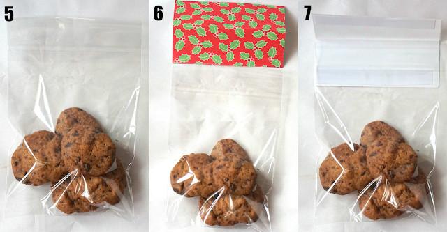 Christmas Cookies In A Bag  Sherbakes DIY Christmas Cookie Bags as Gifts