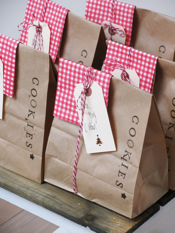 Christmas Cookies In A Bag  17 Best ideas about Cookies Bag on Pinterest