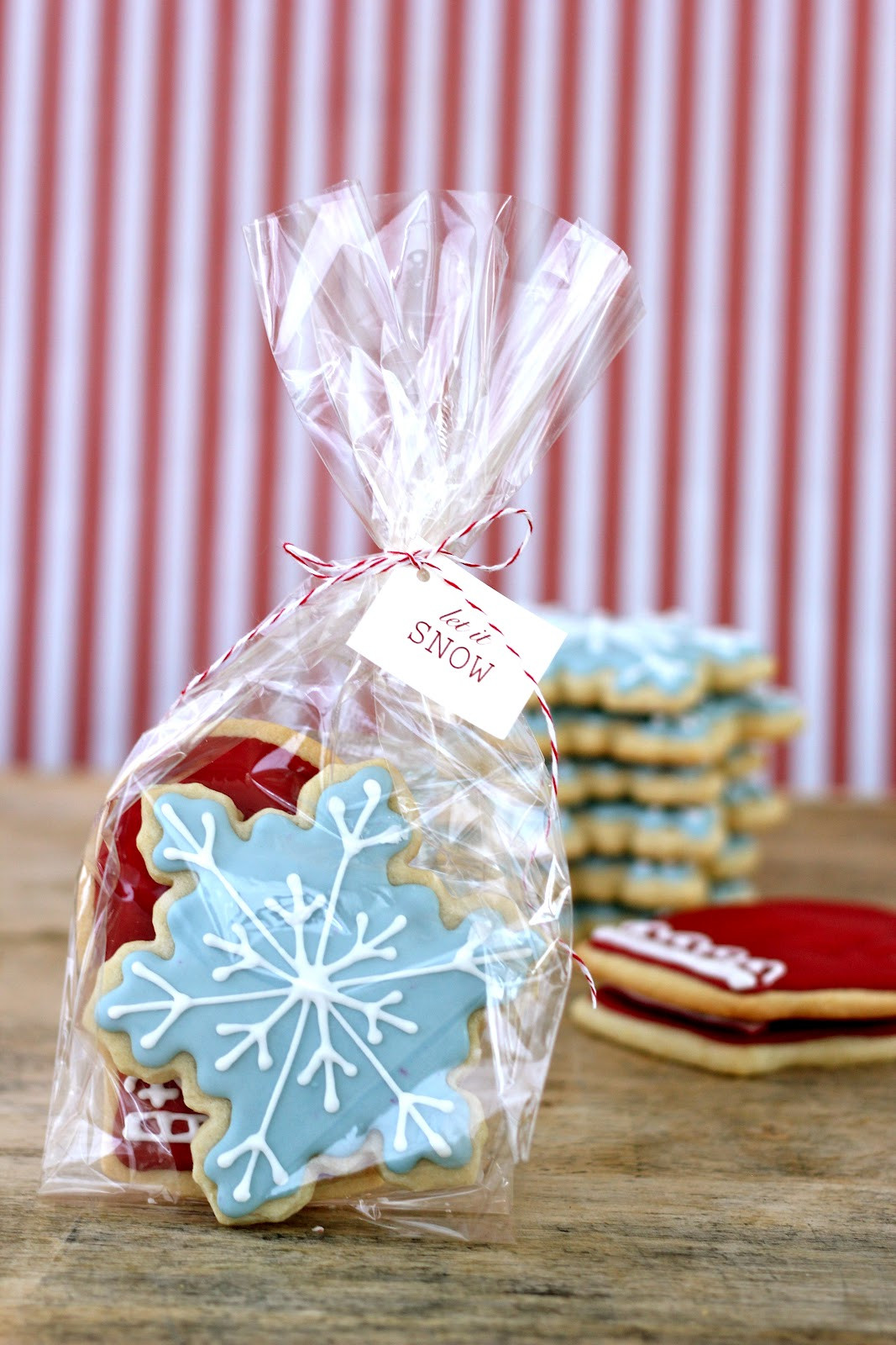 Christmas Cookies In A Bag  Jenny Steffens Hobick Packaging Baked Goods in Your