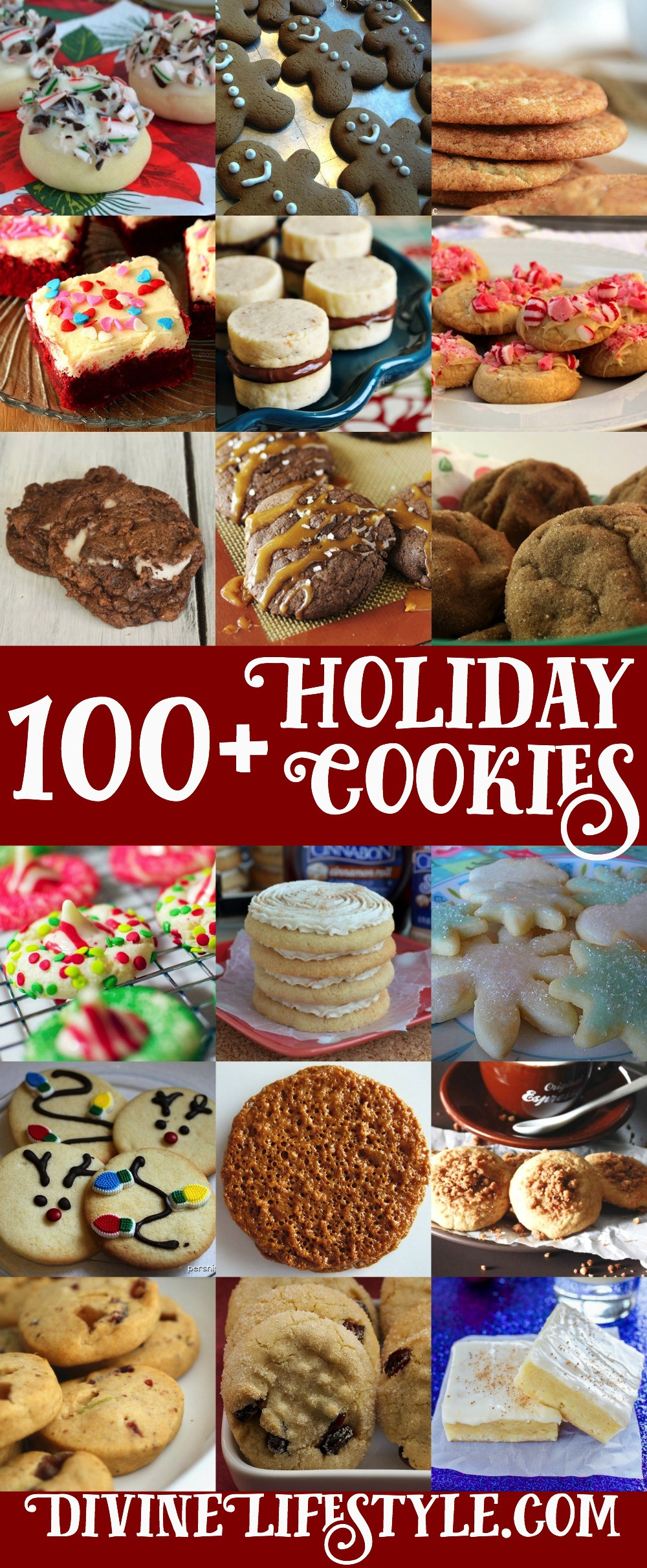 Christmas Cookies List  Ultimate List of 100 Holiday Cookies Recipes